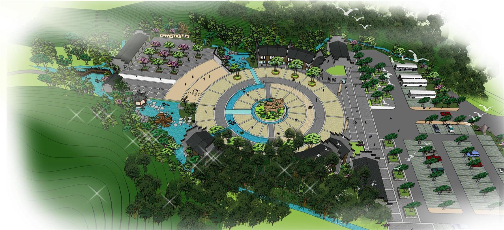 常宁庙前石马地质公园景观规划设计