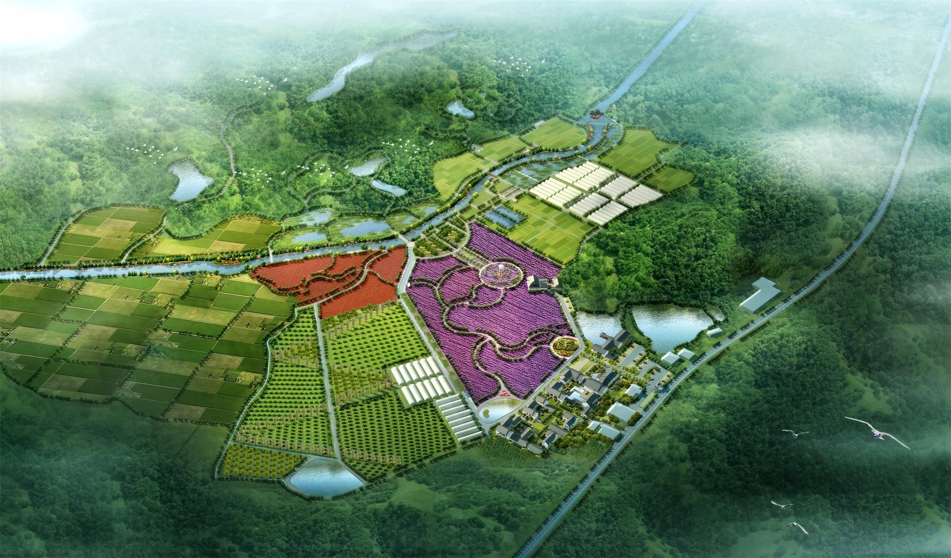 长沙凤麒山生态农庄总体规划