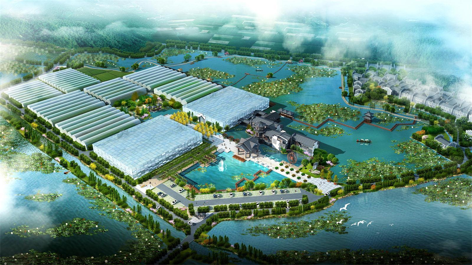 资兴市流华湾生态农业园总体规划