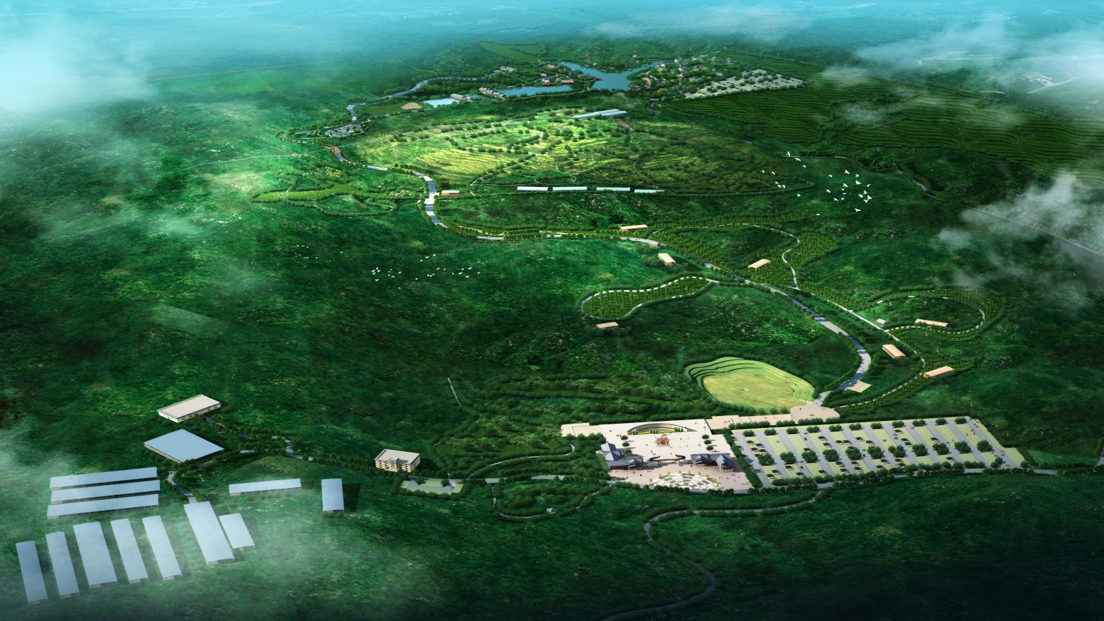 习水县万牛牧业生态农业示范园总体规划
