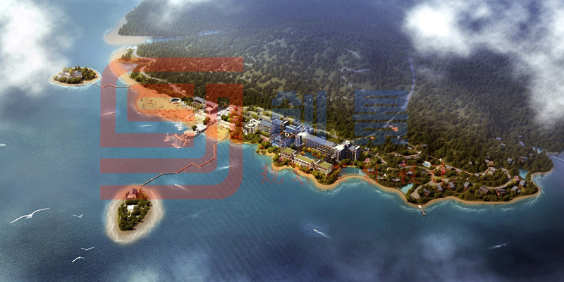 酒仙湖濱湖酒店建筑景觀設計