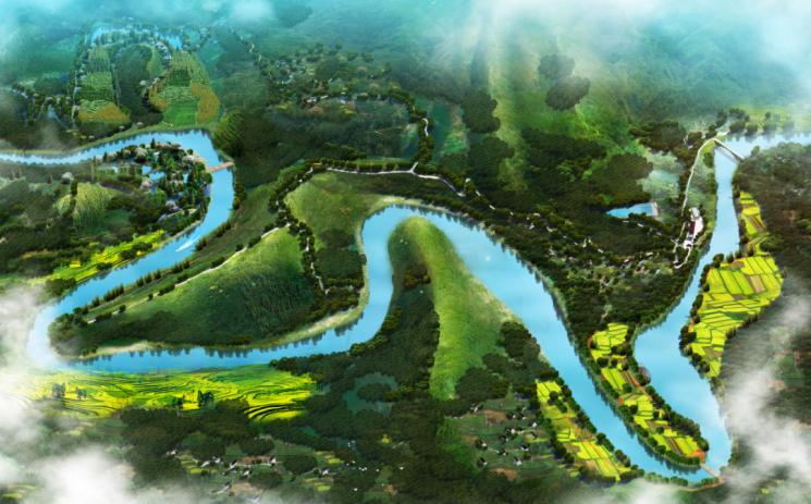 竹溪縣匯灣鎮美麗鄉村旅游規劃設計