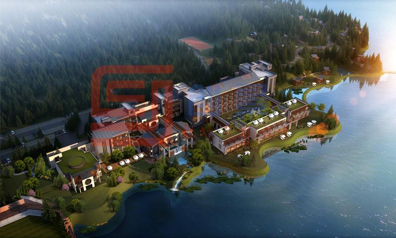 酒仙湖滨湖度假酒店规划设计