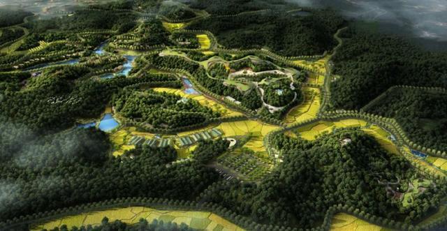 长沙山河健康谷田园综合体项目