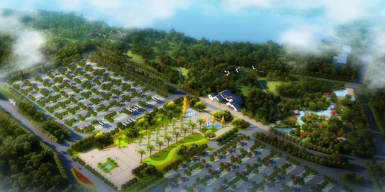 罗文花海涂鸦艺术村广场规划设计