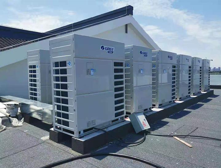 格力空调施工案例
