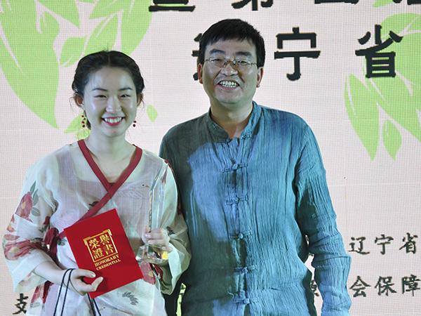 语均茶书院参加第五届中华茶奥会学员与老师合照!