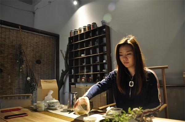 茶艺培训学员