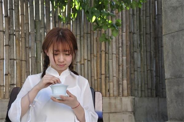茶艺培训学员照片