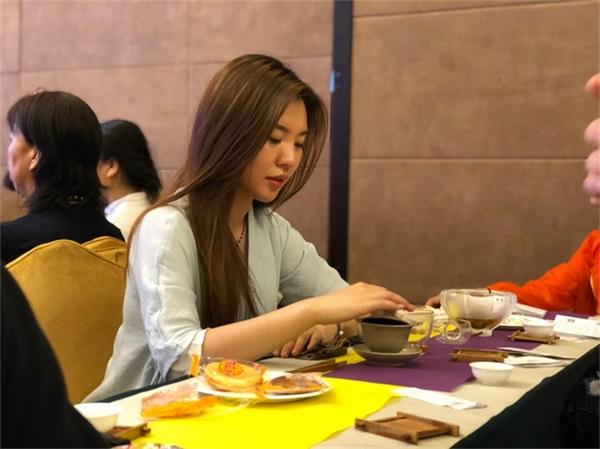 沈阳茶艺培训的学员照片