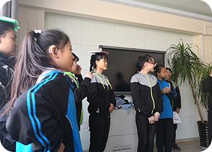 语均茶书院在皇姑聋校举办活动!