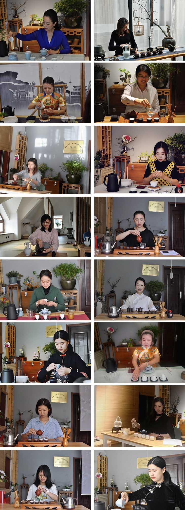 茶艺师学员上课