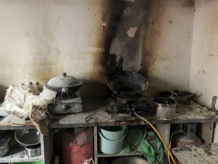 黄岩一周四起厨房火灾