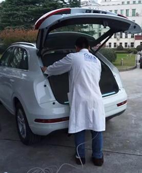 政府车辆车内空气治理