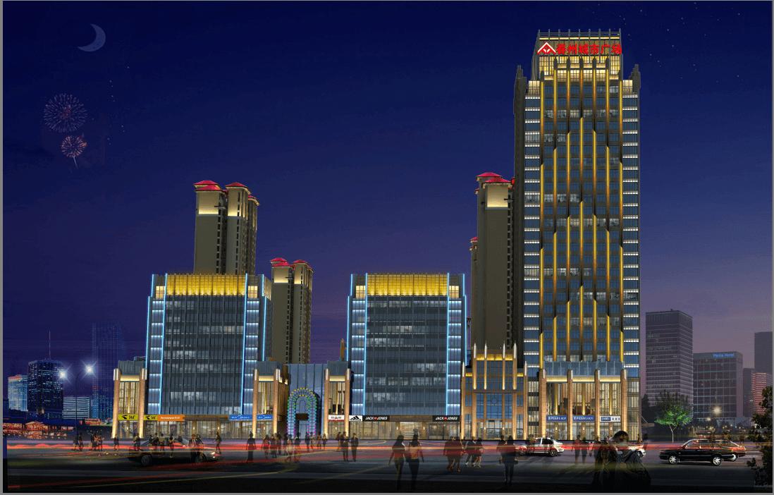 城市楼体亮化设计的意义