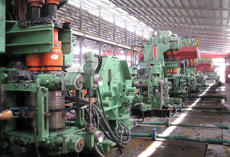 8-32 平立交替轧螺纹钢生产线设备
