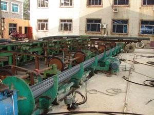 辽宁彭辉钢铁公司50万吨棒材生产线1条