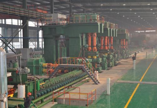 辽宁海城腾兴钢铁公司25万吨棒材生产线1条