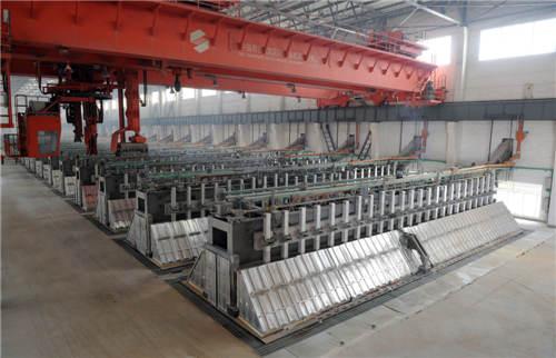 重庆矿源起重机有限公司30万吨棒材生产线1条