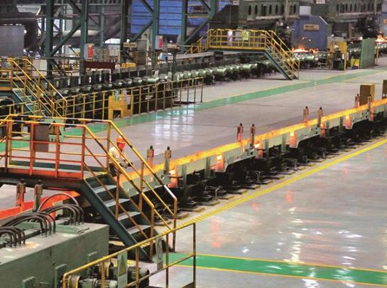 哈尔滨兴鹏工贸有限公司25万吨棒材生产线1条