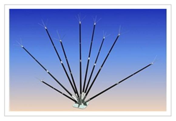 半导体少长针消雷装置