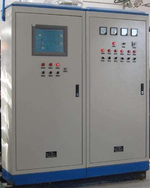 变频器+触摸屏+PLC自动化控制柜