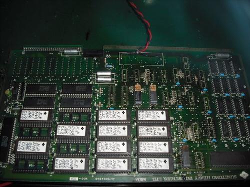 印刷机控制板