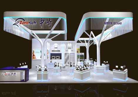 广州中崎机械设备展览设计方案
