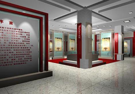 重庆陈列馆展厅设计效果