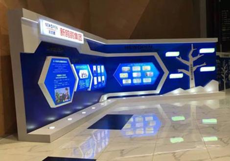 外卖场展厅设计制作