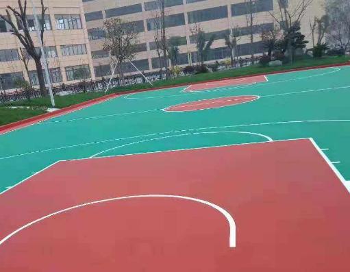 重庆硅pu球场地坪