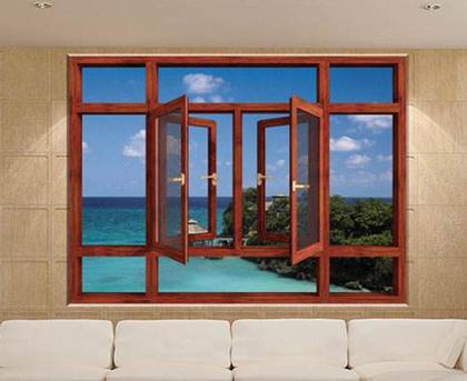 阳台铝合金窗