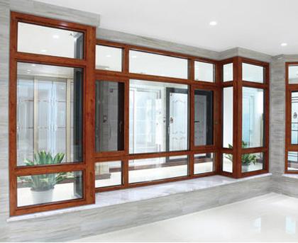 重庆铝合金门窗定制安装案例