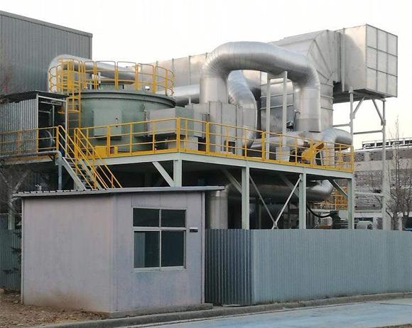 沸石吸附和催化燃烧组合处理废气