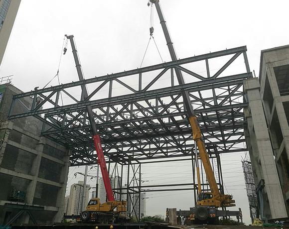 68米跨度桁架