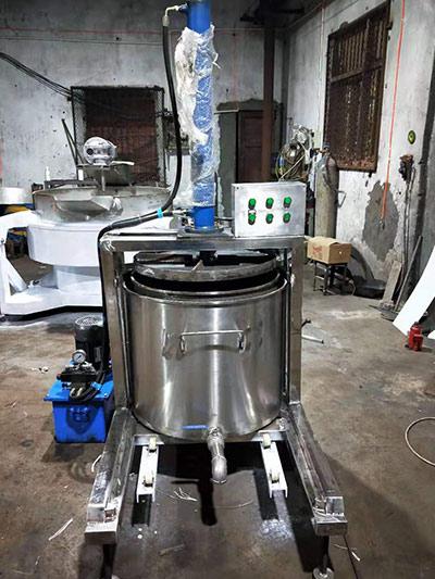 无渣火锅压油机
