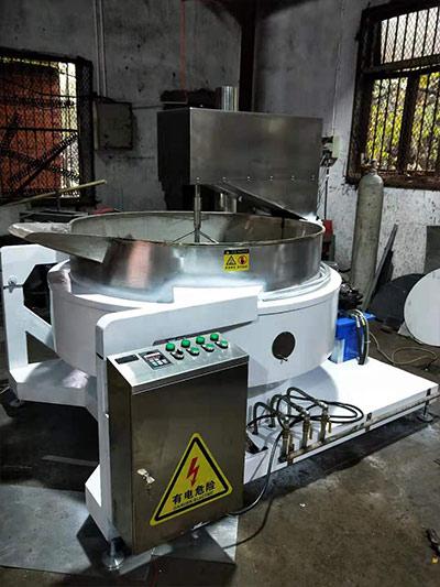 液压自动炒料机