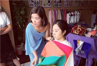 重慶初色形象設計中心對色彩診斷描述