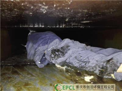 重庆厨房油烟管道清洗