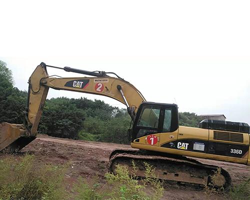 卡特336D挖掘机租赁施工