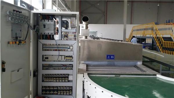零部件通过式超声波清洗设机