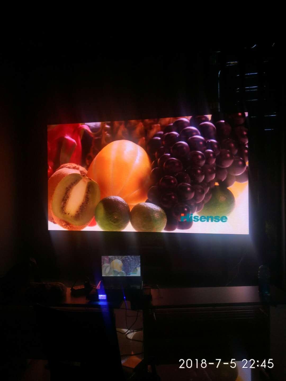 北碚园林管理局室内p3全彩LED显示屏
