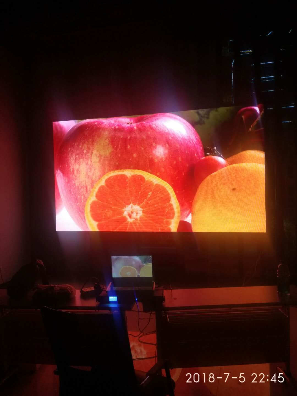 北碚园林管理局LED显示屏室内P3全彩