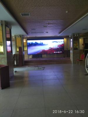 重庆巴南南彭欣怡大酒楼室内P4全彩LED显示屏