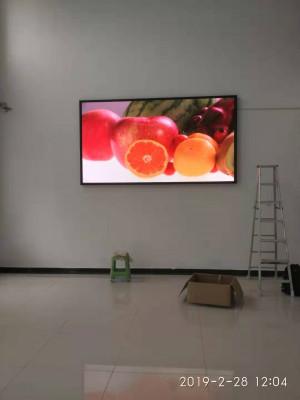 重庆金泰汽车艺术设计威尼斯人官网室内LED显示屏P3全彩