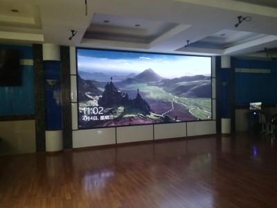重庆巴南区鱼洞四小学室内LED显示屏P3全彩
