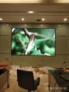 重庆丰盛环保发电有限威尼斯人官网室内P2.5全彩LED显示屏