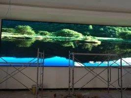开州区南山庄园室内P4全彩LED显示屏