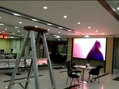 重庆渝北新山村街道室内P3全彩LED显示屏