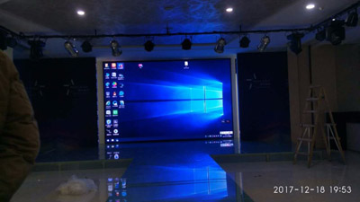 重庆天地室内P4全彩LED显示屏